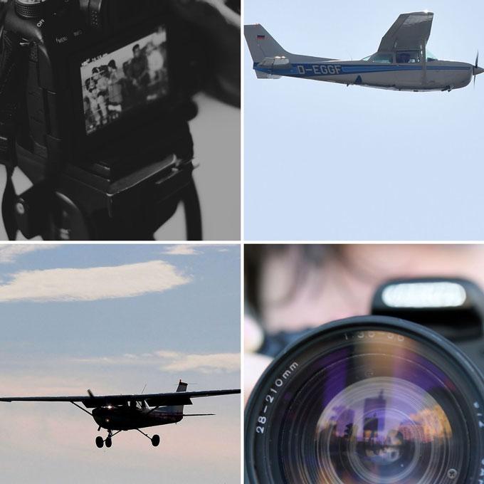 Fotografen und Piloten